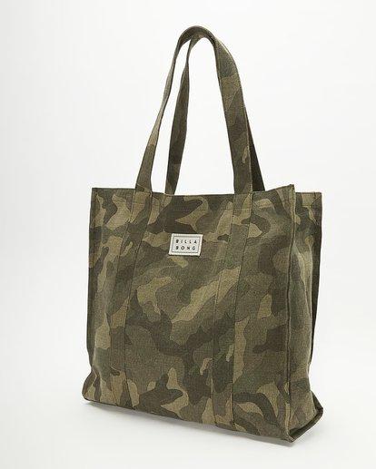 2 Handle It Tote Bag Green ABJBT00104 Billabong