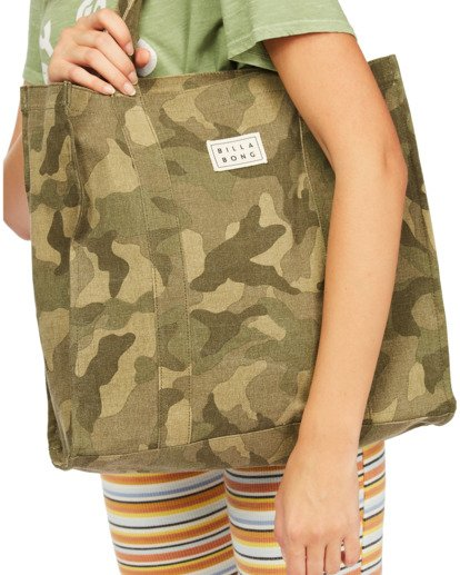 5 Handle It Tote Bag Green ABJBT00104 Billabong
