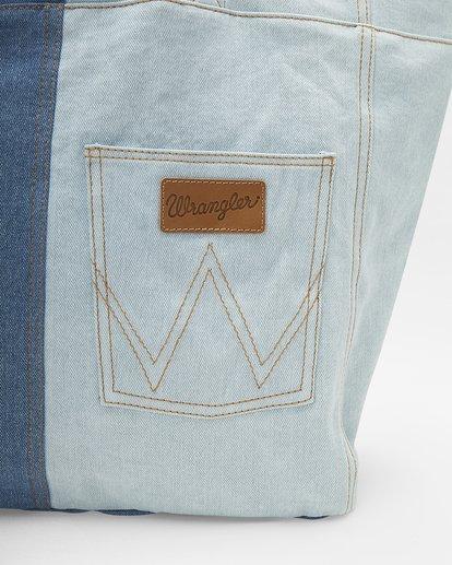 4 Wrangler Homestead Tote Bag Blue ABJBT00105 Billabong