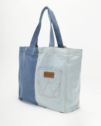 3 Wrangler Homestead Tote Bag Blue ABJBT00105 Billabong