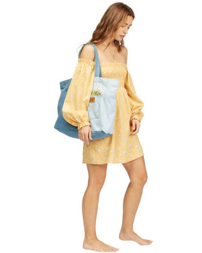 5 Wrangler Homestead Tote Bag Blue ABJBT00105 Billabong