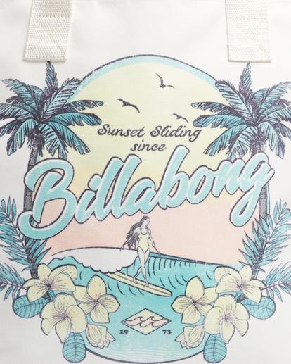 6 Sun Dreamer Beach Bag White ABJBT00120 Billabong