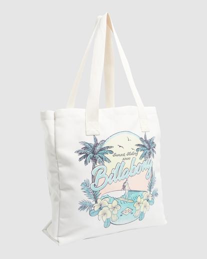 2 Sun Dreamer Beach Bag White ABJBT00120 Billabong