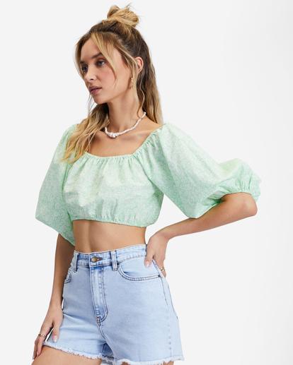 1 So Cheeky Denim Shorts Blue ABJDS00111 Billabong