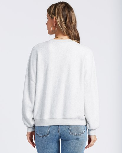 3 Stayin In Fleece White ABJFT00113 Billabong