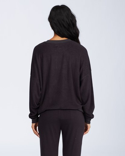 3 Stayin In Fleece Black ABJFT00113 Billabong