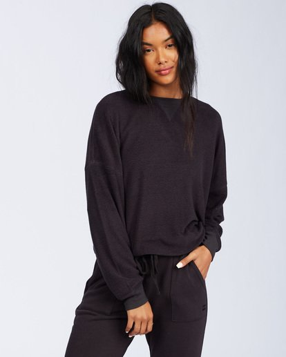 1 Stayin In Fleece Black ABJFT00113 Billabong