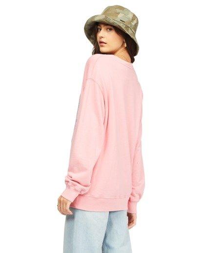 2 Surf Vibe Sweatshirt Pink ABJFT00115 Billabong