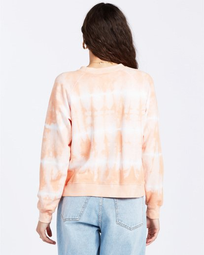 2 Sun Shrunk Sweatshirt Pink ABJFT00117 Billabong