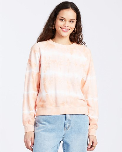 0 Sun Shrunk Sweatshirt Pink ABJFT00117 Billabong