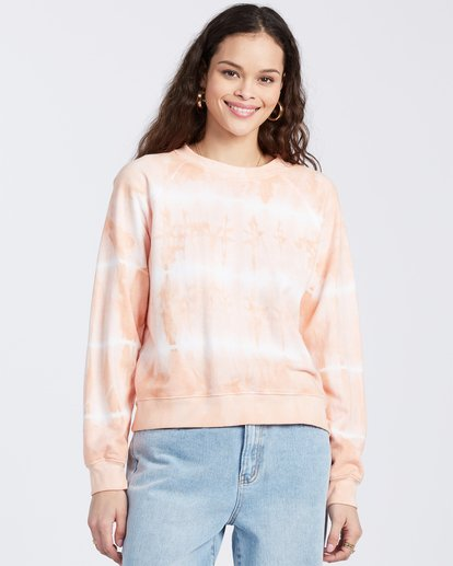 3 Sun Shrunk Sweatshirt Pink ABJFT00117 Billabong