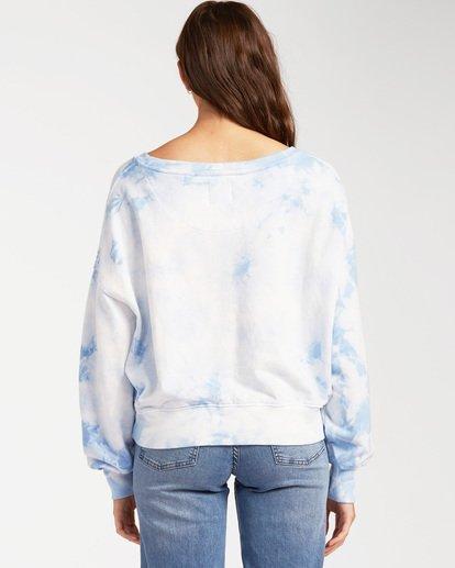 2 Lazy Way Pullover Sweatshirt White ABJFT00135 Billabong