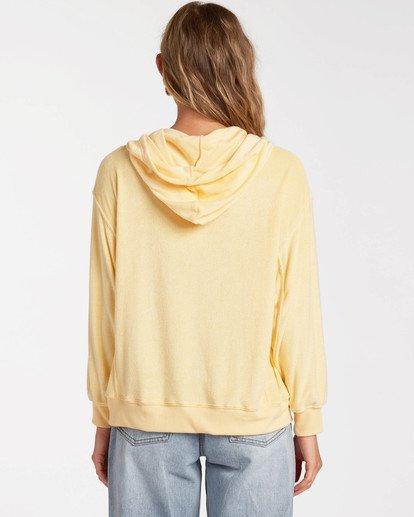 2 Sand Dunes Pullover Sweatshirt Yellow ABJFT00139 Billabong