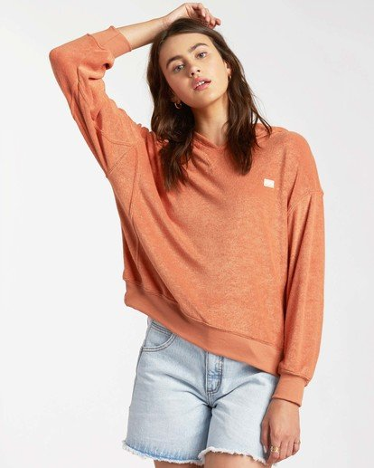 0 Sand Dunes Pullover Sweatshirt Multicolor ABJFT00139 Billabong