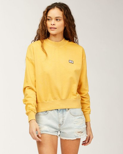 0 Lets Chill Pullover Sweatshirt Grey ABJFT00140 Billabong