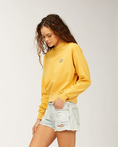 2 Lets Chill Pullover Sweatshirt Grey ABJFT00140 Billabong