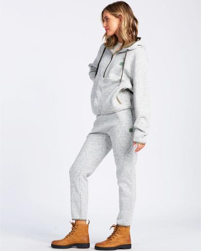 2 A/DIV Roam Free Fleece Hoodie Grey ABJFT00148 Billabong