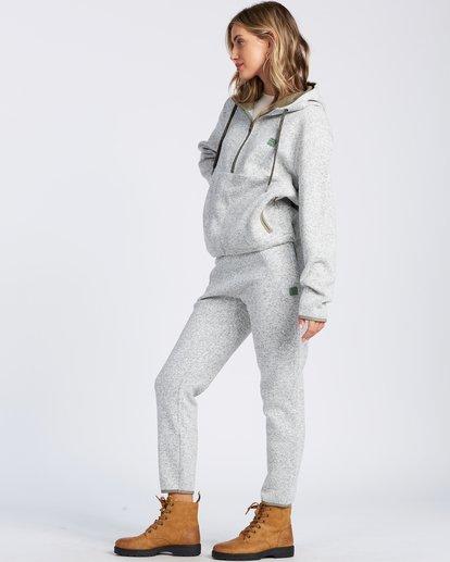 6 A/DIV Roam Free Fleece Hoodie Grey ABJFT00148 Billabong