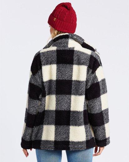 3 Cozy Days Sherpa Fleece Jacket Black ABJFT00163 Billabong