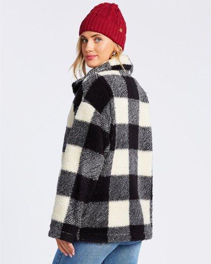 2 Cozy Days Sherpa Fleece Jacket Black ABJFT00163 Billabong