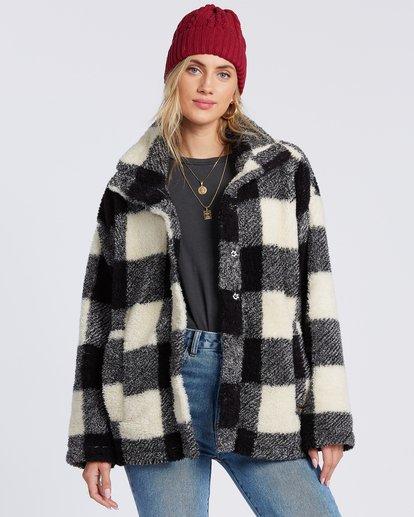 4 Cozy Days Sherpa Fleece Jacket Black ABJFT00163 Billabong