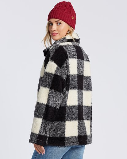 5 Cozy Days Sherpa Fleece Jacket Black ABJFT00163 Billabong