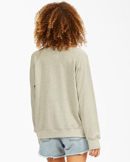 2 Keep Tryin' Crewneck Sweatshirt Grey ABJFT00165 Billabong