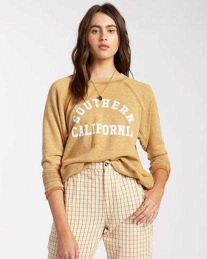 0 Keep Tryin Pullover Sweatshirt Red ABJFT00165 Billabong