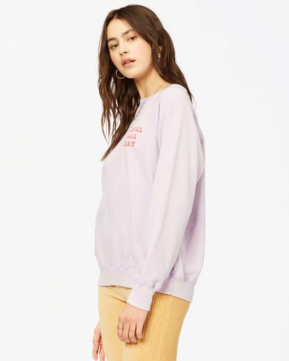 1 Keep Tryin' Crewneck Sweatshirt Multicolor ABJFT00165 Billabong