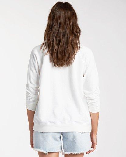 2 Keep Tryin Pullover Sweatshirt White ABJFT00165 Billabong