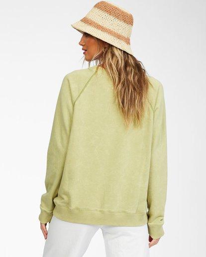 2 Salt And Sand Sweatshirt Green ABJFT00176 Billabong
