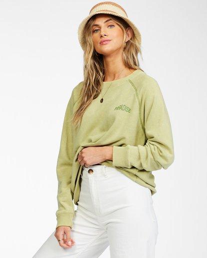 1 Salt And Sand Sweatshirt Green ABJFT00176 Billabong