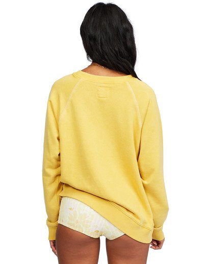 5 Salt And Sand Sweatshirt Yellow ABJFT00176 Billabong