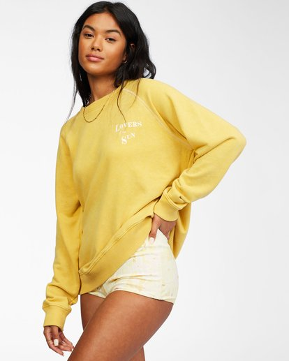 1 Salt And Sand Sweatshirt Yellow ABJFT00176 Billabong