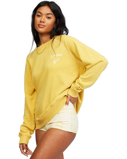 2 Salt And Sand Sweatshirt Yellow ABJFT00176 Billabong