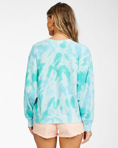 3 Ideal Crewneck Sweatshirt Green ABJFT00178 Billabong