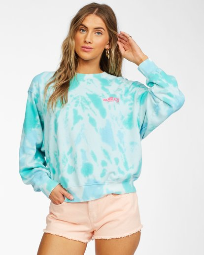1 Ideal Crewneck Sweatshirt Green ABJFT00178 Billabong