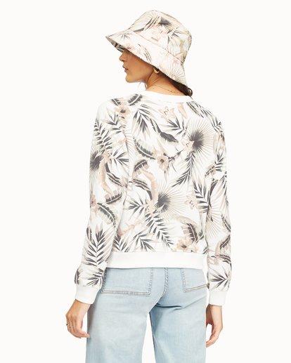 2 Sun Shrunk Crewneck Sweatshirt Grey ABJFT00189 Billabong