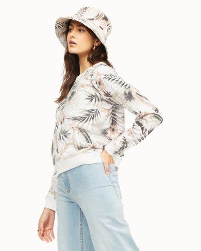 1 Sun Shrunk Crewneck Sweatshirt Grey ABJFT00189 Billabong