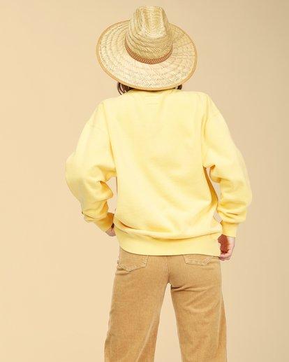 3 Wrangler Wayward Crew Neck Sweatshirt Yellow ABJFT00192 Billabong