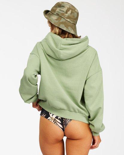 3 Forever Pullover Hoodie Green ABJFT00195 Billabong