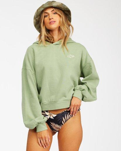 1 Forever Pullover Hoodie Green ABJFT00195 Billabong