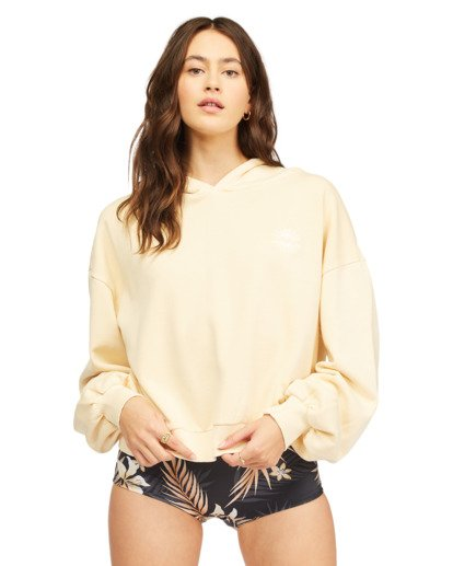 0 Forever Pullover Hoodie Yellow ABJFT00195 Billabong
