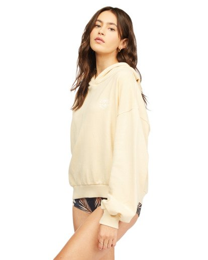 1 Forever Pullover Hoodie Yellow ABJFT00195 Billabong