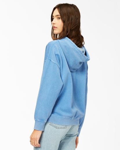 2 Perfect Weekend Pullover Hoodie Blue ABJFT00209 Billabong