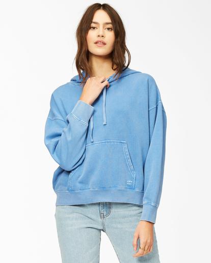 0 Perfect Weekend Pullover Hoodie Blue ABJFT00209 Billabong