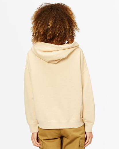 2 Perfect Weekend Pullover Hoodie Beige ABJFT00209 Billabong