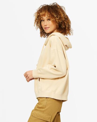 1 Perfect Weekend Pullover Hoodie Beige ABJFT00209 Billabong