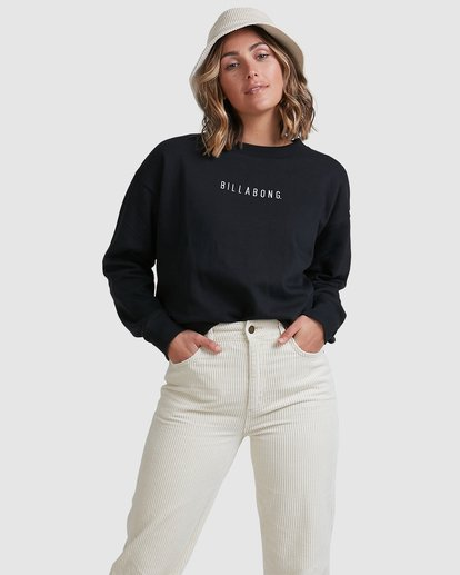 0 Vital Sweatshirt Black ABJFT00228 Billabong