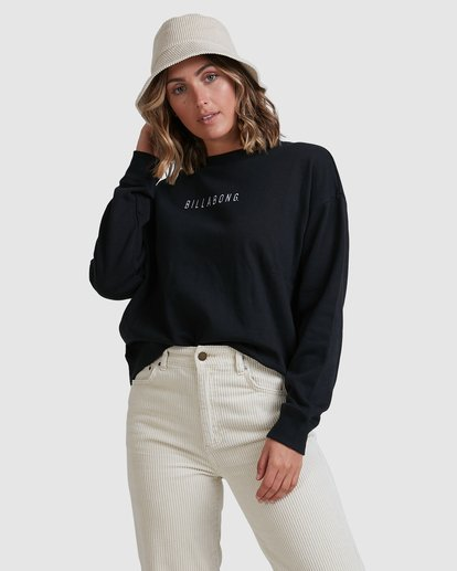 3 Vital Sweatshirt Black ABJFT00228 Billabong
